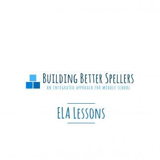 ELA Lessons