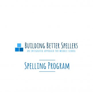 Building Better Spellers Program
